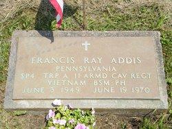 Spec Francis Ray Addis