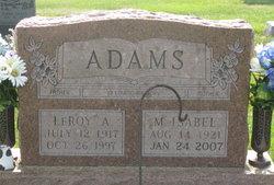 M Isabel <i>Young</i> Adams