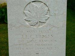 Private James Edward Budgen