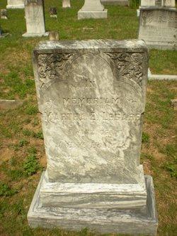 Martha E. <i>Legare</i> Holmes