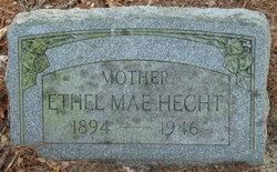Ethel Mae <i>Irelan</i> Hecht