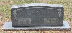 Elvie Jane <i>Farris</i> Jones