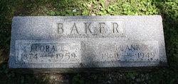 Flora Ella <i>Bishop</i> Baker