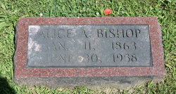 Alice Adelia <i>Munn</i> Bishop