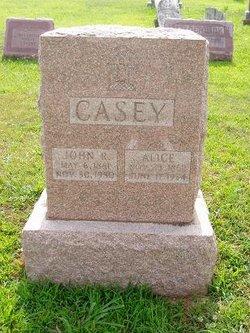 Alice C <i>Anthony</i> Casey