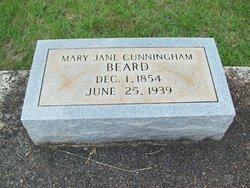 Mary Jane <i>Cunningham</i> Beard