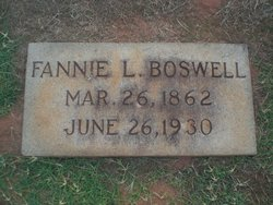Fannie L Boswell