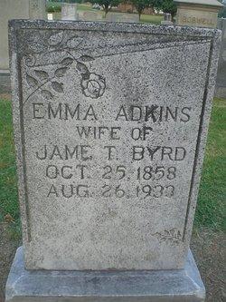 Emma <i>Adkins</i> Byrd