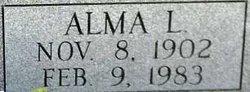 Alma Mrytle <i>Logan</i> Ivey