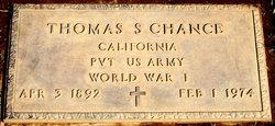 Thomas S Chance