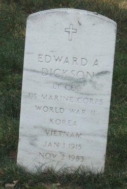 LTC Edward A. Dickson