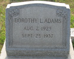 Dorothy Lucille Adams