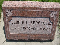 Elmer Lee Sedam, Sr