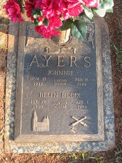 Helen <i>Biddix</i> Ayers
