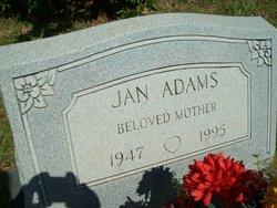 Jan Adams