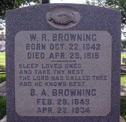 Bethilda Ann <i>Roberts</i> Browning