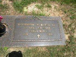 Woodrow Wilson Woody Black
