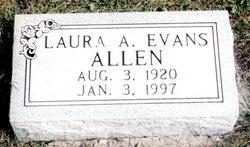 Laura Annette <i>Evans</i> Allen