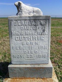 Beaulah W. Guthrie
