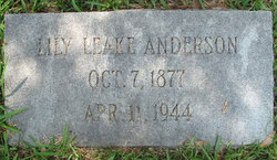 Lily <i>Leake</i> Anderson