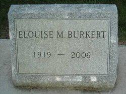 Elouise May Jo <i>Barringer</i> Burkert