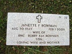 Janette <i>Fender</i> Bowman