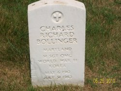 M. Sgt. Charles Richard Dick Bollinger