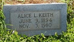 Alice L Keith
