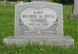 Mildred Hazel <i>Snell</i> Tunnell