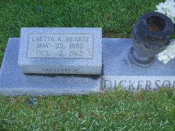 Laetta A. <i>Hearst</i> Dickerson