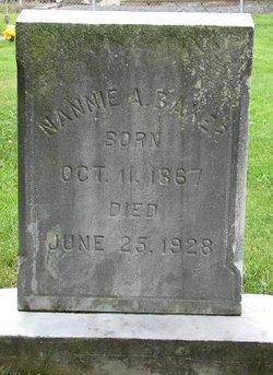 Nannie A Baker