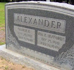 Ida Eula Ida <i>Jeffords</i> Alexander