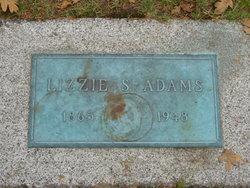 Lizzie Sarah <i>Johnson</i> Adams