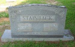 Ada Mae <i>Tunstall</i> Stainback