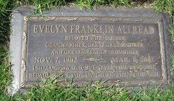 Evelyn <i>Franklin</i> Allread