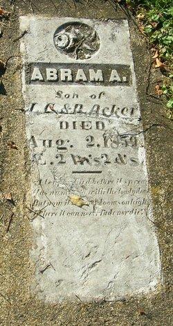 Abram A. Acker