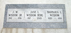Jane L. <i>Wisdom</i> Berg