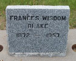 Frances <i>Wisdom</i> Blake