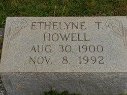 Ethelyne T Howell