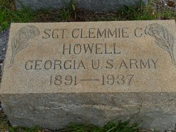 Sgt Clemmie C Howell