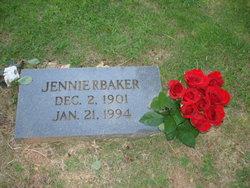 Jennie Elizabeth <i>Ramsey</i> Baker