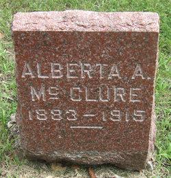 Alberta A McClure