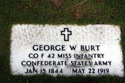 George Washington Burt