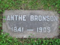 Ianthe <i>Davis</i> Bronson