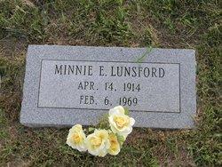 Minnie Ellen <i>Smith</i> Lunsford