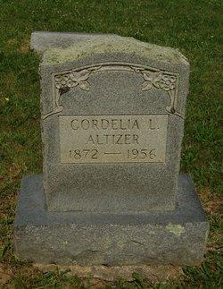 Cordelia <i>Lindamood</i> Altizer