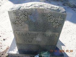 Mary <i>Hanson</i> Beam