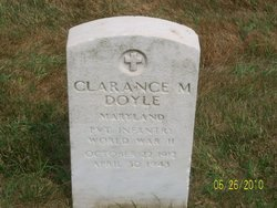Pvt Clarence M Doyle