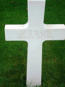 Sgt Louis M Lane