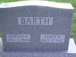Edith Roseanna <i>Calvin</i> Barth